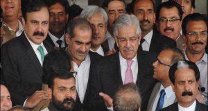 شاہ محمود کے خواجہ آصف اور سعد رفیق کو مشورے