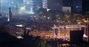 جنوبی کوریا میں صدر کے استعفے کا مطالبہ زور پکڑگیا