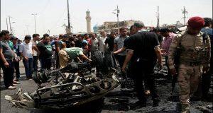 فلوجہ: 2کاربم دھماکے، 8افرادہلاک، بیس زخمی