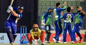 بنگلادیش پریمیئر لیگ میں آج دو میچز کھیلے جائیں گے