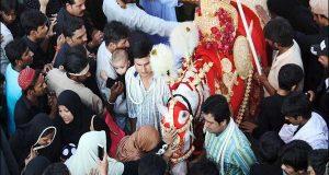 مختلف شہروں میں چہلم کے جلوس اختتام پذیر