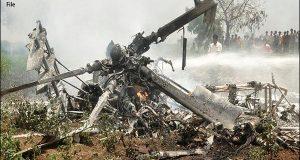 بھارت میں فوجی ہیلی کاپٹرگرگیا، 3 فوجی ہلاک