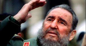 انقلاب اسکوائر پر فیدل کاسترو کی یاد میں اجتماع