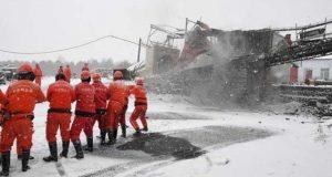 چین میں کوئلے کی کانوں میں دھماکے،59مزدور ہلاک