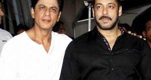 کنگ خان سے ملاقات کے لیے دبنگ خان فلم''رئیس'' کے سیٹ پر پہنچ گئے