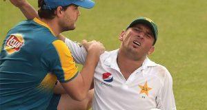 دورہ آسٹریلیا میں قومی ٹیم کو پہلا دھچکا، لیگ اسپنر یاسر شاہ ان فٹ