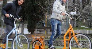 پیروں کی حرکت سے توانائی حاصل کرنے والی ٹریڈ مل الیکٹرک سائیکل