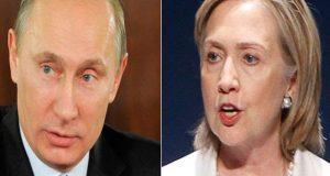 صدارتی انتخابات میں میری شکست کے ذمہ دار روسی صدرہیں، ہیلری کلنٹن