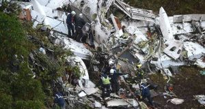 کولمبیا: حادثے سے پہلے جہاز میں 'ایندھن ختم ہو گیا تھا'