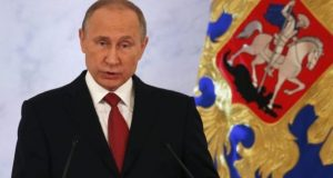 روس کسی سے لڑائی نہیں چاہتا: ولادی میر پوتن