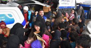 روس حلب کے لیے محفوظ راستے دینے کو تیار