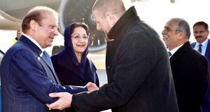 وزیر اعظم کا بوسنیا پہنچ گئے، گارڈ آف  آنر پیش کیا گیا