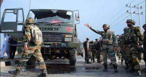 مقبوضہ کشمیر: قافلے پر حملہ، 3بھارتی فوجی ہلاک
