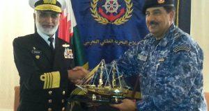 چیف آف دی نیو ل اسٹاف ایڈمرل محمد ذکاءاللہ کی کمانڈر رائل بحرین نیول  فورس سے ملاقات