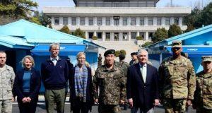 شمالی کوریا کے خلاف فوجی کارروائی کا بھی ایک آپشن ہے: امریکہ