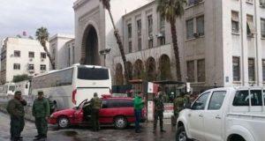 شام: حکومت مخالف باغیوں کے حملے کے بعد دمشق میں شدید لڑائی جاری