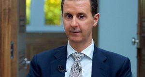 امریکا نے شام پرحملے کا جواز پیدا کرنے کیلئے کیمیائی گیس کا ڈرامہ رچایا، بشارالاسد
