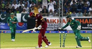 ویسٹ انڈیز کا پاکستان کو فتح کیلئے 234رنز کا ہدف