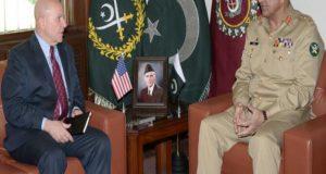 جنرل قمر جاوید باجوہ میک ماسٹر اہم ملاقات: پاک امریکہ تعلقا، دفاعی تعاون او خطے کی سکیورٹی سے متعلق امور پر تبادلہ خیال