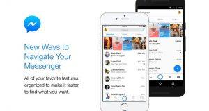 فیس بک میسنجر کا استعمال اب بہت آسان