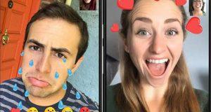 فیس بُک ویڈیو چیٹ کے لیے نئے اینی میٹڈ ری ایکشن فیچرز