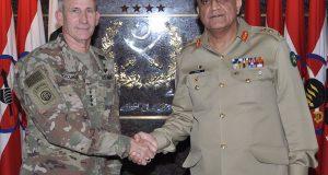 امریکہ اور افغانستان کی پاکستان پر الزام تراشیاں: آرمی چیف کا امریکی جنرل سے اظہار تشویش
