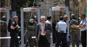 فلسطینیوں کے احتجاج کے بعد اسرائیل کا مسجد اقصیٰ سے میٹل ڈٹیکٹر ہٹانے کا اعلان