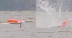 پرندوں کی طرح غوطہ لگانے والا ڈرون
