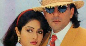 سنجے دت اور سری دیوی 25 برس بعد ایک ساتھ فلم میں جلوہ گر ہوں گے
