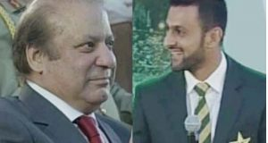 شعیب ملک کے برجستہ جواب، وزیر اعظم بھی بے اختیار مسکرا دیئے