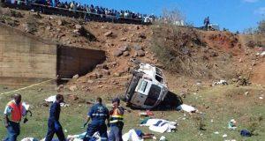 جنوبی افریقا میں ٹریفک حادثے میں 19 افراد ہلاک