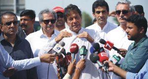 الیکشن کمیشن کے ذریعے پاناما کیس لڑنے کی سزاد ی جا رہی ہے، عمران خان