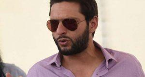 شاہد آفریدی کی افغان کرکٹ لیگ میں شرکت سے معذرت
