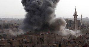 شام میں روسی طیاروں کی بمباری سے باغی گروپ کے 45 ارکان ہلاک