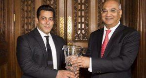 برطانوی پارلیمنٹ میں سلمان خان کے لیے عالمی ایوارڈ
