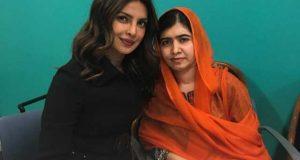 پریانکا نے ملالہ سے ملاقات کو ناقابل یقین قرار دے دیا