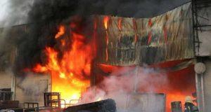 سعودی عرب میں خوفناک آتشزدگی، 10 افراد زندہ جل گئے