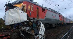 روس میں مسافر بس ٹرین کی زد میں آنے سے 19 افراد ہلاک