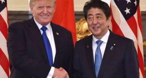 جاپان امریکی ہتھیاروں سے شمالی کوریا کے میزائل گراسکتا ہے، ٹرمپ