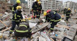 چین میں زوردار دھماکے سے5  افراد ہلاک، عمارتیں گرگئیں