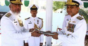 پاک بحریہ کے نئے کمانڈر کوسٹ اور کمانڈر پاکستان نیوی فلیٹ نے ذمہ داریاں سنبھال لیں