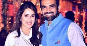 ظہیر خان اور اداکارہ ساگریکا شادی کے بندھن میں بندھ گئے