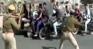 انتہا پسندوں کی سینما میں توڑ پھوڑ کی کوشش، پولیس نے لاٹھیاں برسادیں