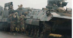 زمبابوے میں فوج نے حکومت کا تختہ الٹ دیا