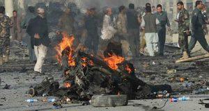 افغان خفیہ ایجنسی کے ہیڈکوارٹر پر خودکش حملے میں 6 افراد ہلاک