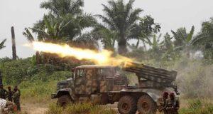 کانگو میں فوجی آپریشن کے دوران 100 سے زائد شدت پسند ہلاک