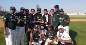 پاکستان نے بھارت کو پچھاڑ کر دبئی بیس بال کپ جیت لیا