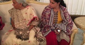 کلبھوشن کے اہلخانہ کی بھارتی وزیرخارجہ سشما سوراج سے ملاقات