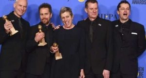 گولڈن گلوب ایوارڈ پر سیاہ رنگ چھایا رہا