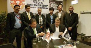 روزنامہ ایکسپریس اسلام آباد یونائیٹیڈ کا آفیشل میڈیا پارٹنر بن گیا